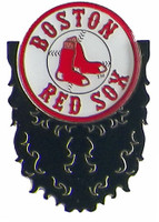 Boston Red Sox Beard Pin with Red Sox Logo Pin