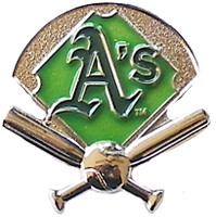 Oakland A's Field Pin