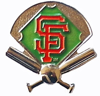 San Francisco Giants Field Pin