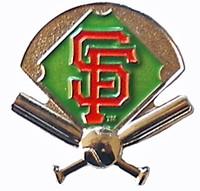 San Francisco Giants Field Pin