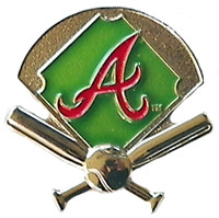 Atlanta Braves Field Pin