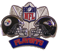 2008 AFC Champs Steelers vs. Ravens Pin #2