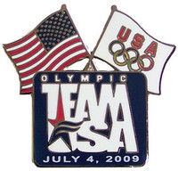 July 4th, 2009 Team USAAwareness Pin