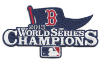 Boston Red Sox 2013 World Series Championship Patch
