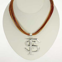 "Florida State Logo Multi-Cord 18"" Necklace"