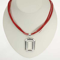 "Ohio State Logo Multi-Cord 18"" Necklace"