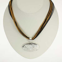 "Missouri Logo Multi-Strand 18"" Necklace"