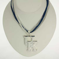 "Kentucky Logo Multi-Cord 18"" Necklace"