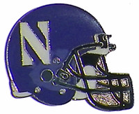 Northwestern Helmet Pin