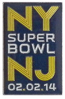 Super Bowl XLVIII (48) NY / NJ Pin
