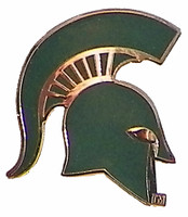 "Michigan State ""Spartan"" Logo Pin"