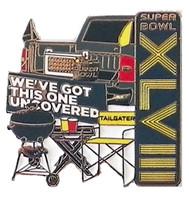 Super Bowl XLVIII Tailgating Pin
