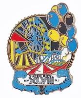 Super Bowl XLVIII Coney Island Amusement Park Pin