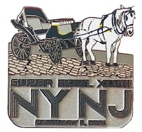 Super Bowl XLVIII Central Park Horse & Carriage Pin