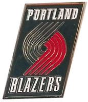 Portland Trail Blazers Logo Pin