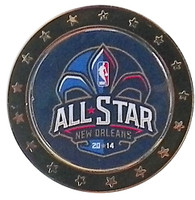 2014 NBA All Star Game Circle Logo Pin