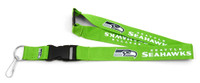 Seattle Seahawks Lime Green Lanyard