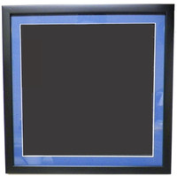 Collector Pin Frame Display w/ Matting