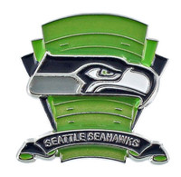 Seattle Seahawks Logo Field Pin