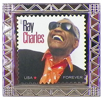 Ray Charles Forever Stamp Pin