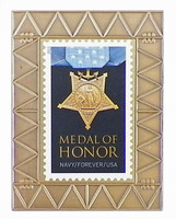 Navy Medal of Honor Forever Stamp Pin