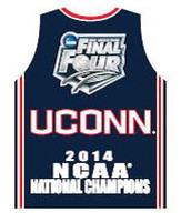 Uconn Huskies 2014 NCAA Basketball National Champs Jersey Pin
