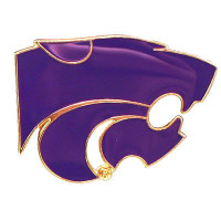 Kansas State Logo Pin
