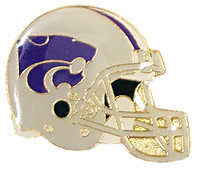 Kansas State Football Helmet Pin