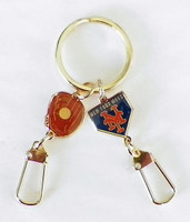 New York Mets Double Key Chain