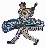 2012 NCAA College World Series Slugger Pin