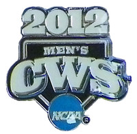 Copy of 2012 NCAA College World Series Logo Pin