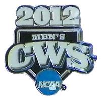Copy of 2012 NCAA College World Series Logo Pin