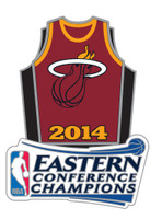 Miami Heat Eastern Conference Champs Pin