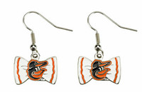 Baltimore Orioles Bow Earrings