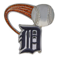 Detroit Tigers Glitter Trail Pin