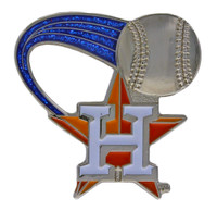 Houston Astros Glitter Trail Pin