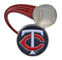 Minnesota Twins Glitter Tail Pin