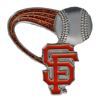 San Francisco Giants Glitter Trail Pin