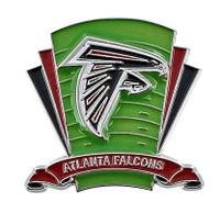 Atlanta Falcons Logo Field Pin