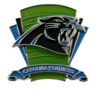 Carolina Panthers Logo Field Pin