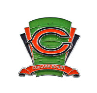 Chicago Bears Logo Field Pin