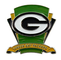 Green Bay Packers Logo Field Pin