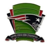 New England Patriots Logo Field Pin