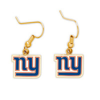 New York Giants Earrings.