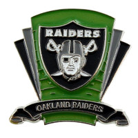 Oakland Raiders Logo Field Pin
