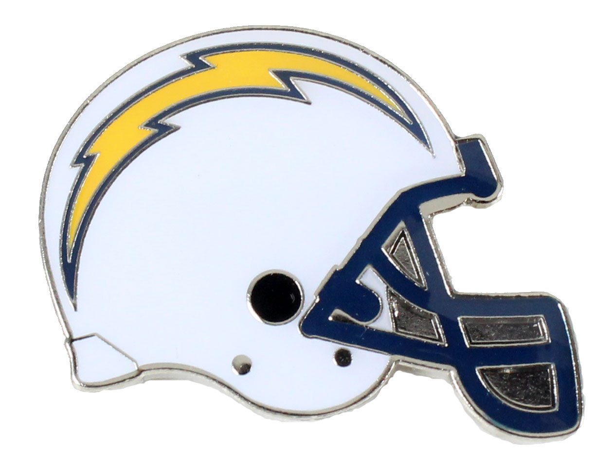 Los Angeles Chargers Helmet Pin.