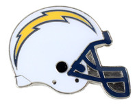 Los Angeles Chargers Helmet Pin.