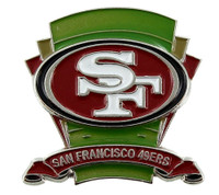 San Francisco 49ers Logo Field Pin