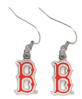 "Boston Red Sox ""B"" Earrings"
