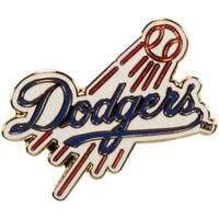 Los Angeles Dodgers Logo Pin